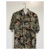 Tori Richard Size L 100% Cotton Button Up Shirt