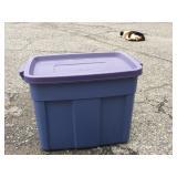 18 Gal Plastic Storage Tote