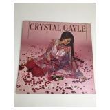 """CRYSTAL GAYLE """"We Must Believe in Magic"""" LP"""
