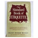 New Standard Book of Etiquette c 1948