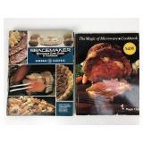 2 Vintage Microwave Cookbooks