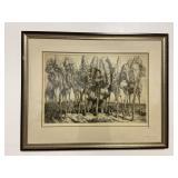 Donald Shaw Maclaughlin Pencil Signed Etching