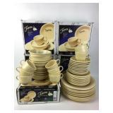 Fiesta Ware 5 Piece Ivory Dish Sets
