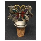 Vintage Butterfly Bottle Stopper