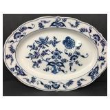 Vintage Blue Danube Oval Platter