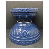 Large Decorative Bowl Lot