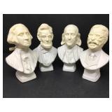 Vintage Avon Presidents Aftershave Bust