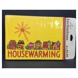 Vintage Hallmark Housewarming Invites