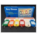 Vintage Key House for 6 Keys