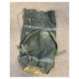Vintage Military Backpack Bag
