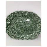 Vintage Bordallo Pinheiro Embossed Platter