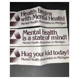 Mental Heath Association Bumper Stickers