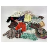 Vintage Doll Clothing Lot