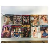 Vintage 1981 Playboy Magazines