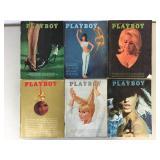 Vintage 1965 Playboy Magazines