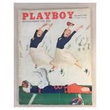 Vintage 1956 Playboy Magazine