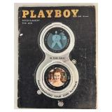 Vintage 1958 Playboy Magazine