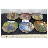 "8.5"" GONE WITH THE WIND PLATES KNOWLES"