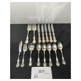 WESTMORLAND STERLING FLATWARE GEORGE AND MARTHA