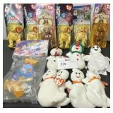 TY BEANIE BABY LOT  SPACE JAM ETC. 15 TOTAL