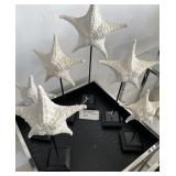 LOT OF 7 STARFISH DECOR 2 HAVE DAMAGE