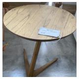 FLOATING WOOD END TABLE 18""