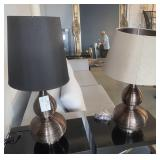 TABLE LAMP BRONZE FINISH SHADES DO NOT MATCH