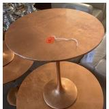 "COPPER LEAF ACCENT TABLE 16"" X 21"""