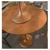 "COPPER LEAF ACCENT TABLE 24"" X 27"""