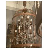 BIRD CAGE LIGHTING FIXTURE 24 X 36