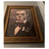 DEATH ART MAN IN GOLD FRAME 24 X 36