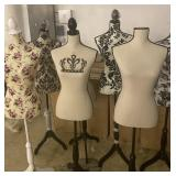 Dress Form Mannequins