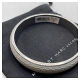 MARC JACOBS GRAY BANGLE BRACLET