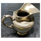 STERLING SILVER PITCHER WEIGHT APPROX 2.5 POUNDS