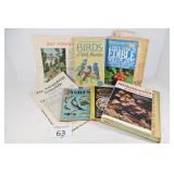 Assorted Books, Birds, Plants & Fish