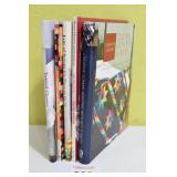 (5) Assorted Quilting & Cross Stitch Books