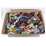 Large Flat of Hot Wheels, Matchbox, & Others