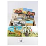 Box of Assorted Postcards