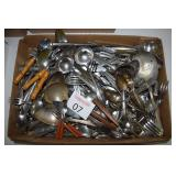 Silver Plated Grapefruit Spoons & Other Table Ware