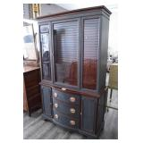 Beautifully Painted Duncan Phyffe Cabinet w/