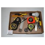 Tape Measures & Box Cutters