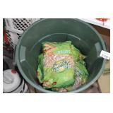 Garbage Can w/ Peanuts