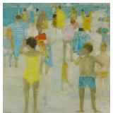 THOMPSON, Michel. Oil on Canvas.