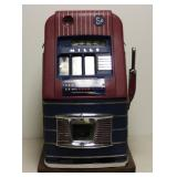 Vintage Mills 5 Cents Slot Machine.