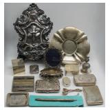 SILVER. Assorted Silver Objets d