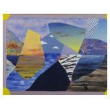 CHUIKOV, Ivan. Oil on Canvas. Abstract.