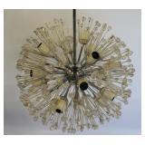 MIDCENTURY. Floral Sputnik Style Chandelier.