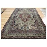 Antique and Finely Hand Woven Kerman Carpet As/Is.