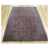 Antique and Finely Hand Woven Tabriz? Carpet.