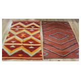 Lot of 2 Antique Navaho Rugs.